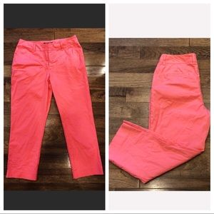 Lafayette 148 New York Coral Ankle Chino Pant